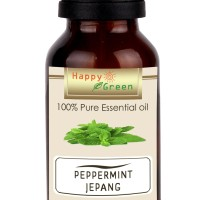 Happy Green Minyak Peppermint Jepang (30 ml) -Peppermint Essential Oil