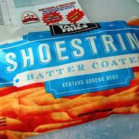 Kentang Goreng Shoestring Batter Coated Tasty Fries beku 900gr (gurih)