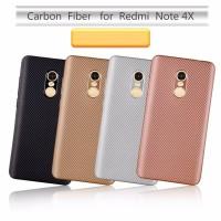 Casing case armor carbon Xiaomi redmi note 4 note 4x note4x snapdragon