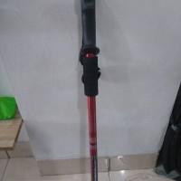 Tracking Pole / Trekking Pole / Tongkat Pendakian Murah Red