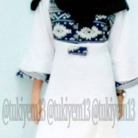 Baju Gamis / Gamis Motif Songket Balotelli- Azizah / Gamis Katun