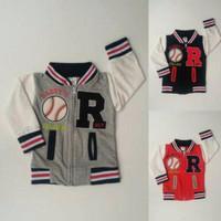 Jaket Anak Bayi Laki Laki Cowok Varsity Baseball R  1 2tahun  Limited
