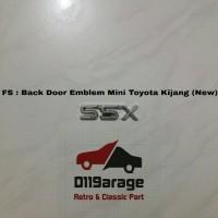 Emblem Belakang Toyota Kijang Grand / Grand Extra