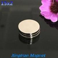 MAGNET SUPER KUAT MAGNET NEODYMIUM 15X2 mm