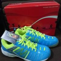 Sale Sepatu Badminton Hiqua Hi Qua Hi-Qua HQ Skyline Bluesky Lemon Ori