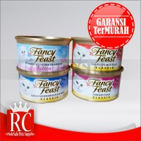 Makanan Kucing Basah Premium - Fancy Feast All Varian 85 Gr