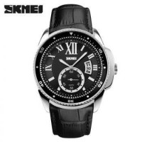 skmei 1135 watch jam tangan leather kulit talu strap WATERPROOF