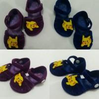 sepatu anak bayi lucu prewalker ungu dan biru navy bayi perempuan