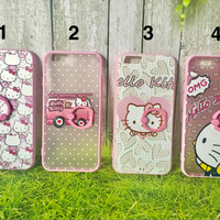 soft case casing iring iphone 6 6s 7 plus hello kitty murah cute