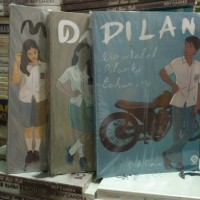 DILAN 1, DILAN 2, MILEA (3 NOVEL )
