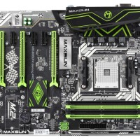 MAXSUN MS-B350FX Gaming Pro (AM4, B350, DDR4, 3 Slot VGA PCI-E)