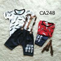 Setelan anak laki laki  (suspender) CA248