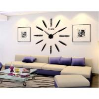 Jam Dinding Besar DIY 80-130cm Diameter - ELET00661