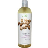 Pure Castor Oil 100 ml Minyak Biji Jarak Murni Ricinus communis
