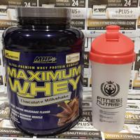 mhp maximum whey 5lbs susu protein fitness nitrotech suplemenfitness