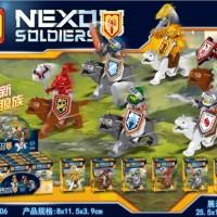 Lele 92006 1-6 set Nexo Soldiers