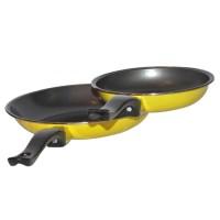 Maspion Panci penggorengan teflon Set 18cm+23cm - Kuning