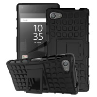 Sony xperia Z3 / Z5 Compact soft case casing back cover RUGGED ARMOR