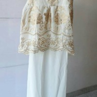 Brocade Maxi Dress Muslim Wanita/Pakaian Muslim Wanita Baju Ied