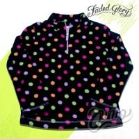 Sweater Anak Perempuan Faded Glory Colorful Polkadot