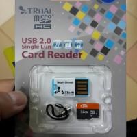 Memory Micro Team  sd 32gb + Usb Card reader