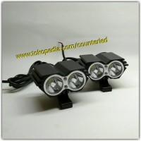 Lampu Tembak Sorot Mobil Motor Mini Owl LED CREE