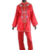 Proteam Baju Taichi Ranting Ungu-Merah