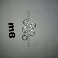 ring plat m6 stainless sus 304 100 pc
