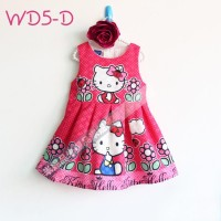 FN1257D. DRESS AUTHENTIC LGN KUTUNG WD5D.HK FULL BINTIK BWH FLOWER HOT
