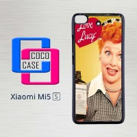 Casing Hardcase Hp Xiaomi Mi 5s I Love Lucy X4656