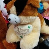 boneka kucing jumbo ukir nama + bantal
