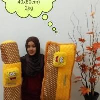 set bantal guling cinta spongebob
