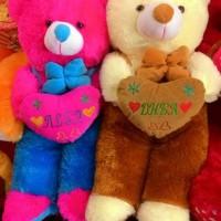 Boneka bear jojon XL ukir nama