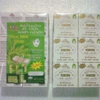 Sabun Beras Thailand Original 1 Lusin