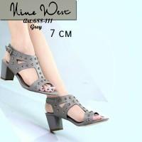 High Heels Import Sandal pesta wanita Zara valentino Gucci LV C&K