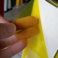 Stiker Transparan Yellow u/ lampu sign body motor (StickerMart)