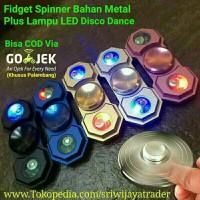 Fidget Spinner LED Metal / Besi, Premium Quality Spiner
