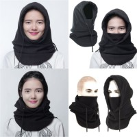 4 in 1 Thermal Fleece Balaclava full face Masker Kupluk Polar Panjang