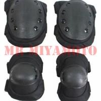 Deker Pelindung Kaki Tangan Sikut Lutut Elbow Knee Pad ARMY Airsoftgun