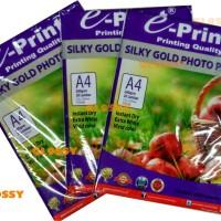EPRINT Silky Gold Photo Paper 260 gsm / KERTAS FOTO SILKY DOFF