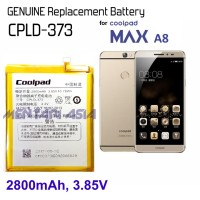Battery for Coolpad MAX A8 : GENUINE CPLD-373 2800mAh