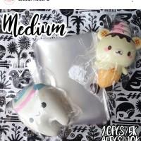 Squishy crispy packaging size MEDIUM 12x15cm
