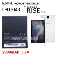 Battery for Coolpad RISE A116 : GENUINE CPLD-143 2000mAh