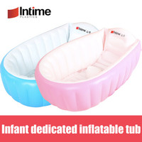 Tanpa POMPA INTIME INFLATABLE BABY BATH TUB SPA BAK MANDI BAYI BATHTUB