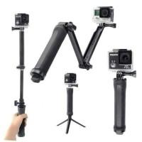 Tongsis 3Way Monopod for GoPro Action Cam Xiaomi BPro Tripod 3 Way