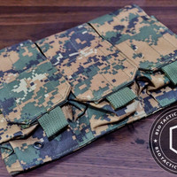 Pouch Tactical Military Airsoft Magazine Pouches Molle 3 Slots Import