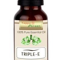 Happy Green Triple E Essential Oil (30 ml) - Minyak Pelega pernapasan
