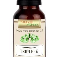 Happy Green Triple E Essential Oil (5 ml) - Minyak Pelega pernapasan