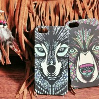 Animal Indian Case/Casing Cover HP Iphone 6 Plus