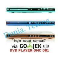 GMC DVD / CD / MP3 Player Usb - DVD KARAOKE GMC bisa gojek
